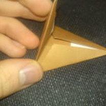 renifer origami - krok 7