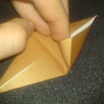 renifer origami - krok 8