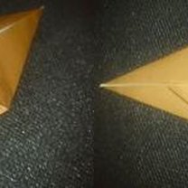 renifer origami - krok 9