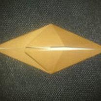 renifer origami - krok 10