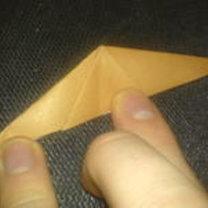 renifer origami - krok 11