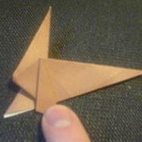 renifer origami - krok 13