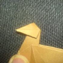renifer origami - krok 15