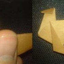 renifer origami - krok 17