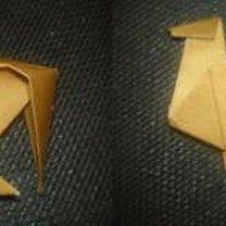 renifer origami - krok 18