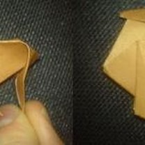 renifer origami - krok 19
