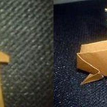 renifer origami - krok 22