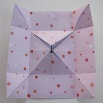 Pudełko origami 8