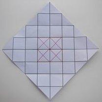Pudełko origami 9