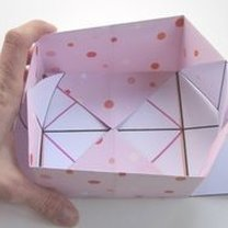 Pudełko origami 13