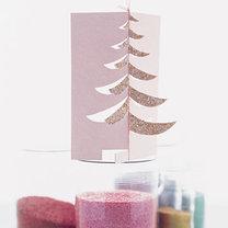 składana kartka bożonarodzeniowa