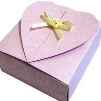 pudełko ozdobne - serce