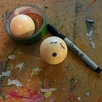Rysowanie ust i oczu