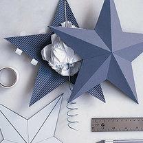 gwiazda na choinkę - krok 6