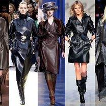skórzane płaszcze - zima 2010/2011