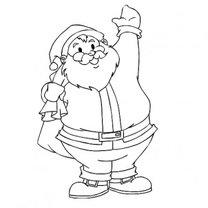 Mikołaj - rysunek - krok 6