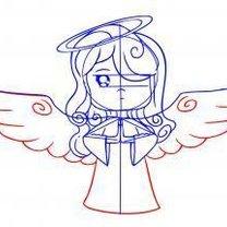 aniołek - krok 5