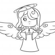 aniołek - krok 6
