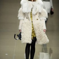 płaszcz zimowy - duży biust