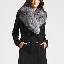 płaszcz zimowy - figura gruszki