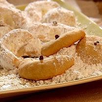Greckie ciasteczka wigilijne