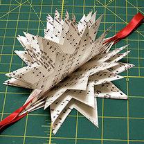 Robienie gwiazdki z papieru