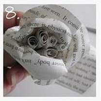 róża z papieru - krok 8
