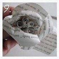 róża z papieru - krok 9