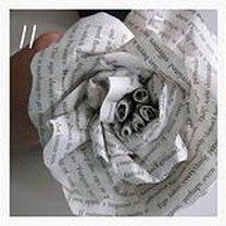 róża z papieru - krok 11