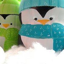 pingwiny z butelki