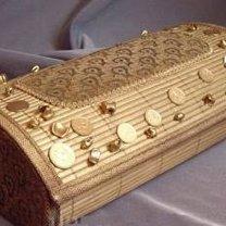 pudełko z maty bambusowej
