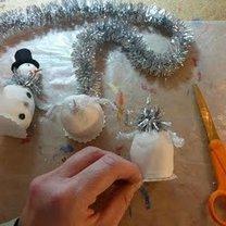 Robienie figurki bałwanka 11