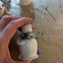 Robienie figurki bałwanka 17