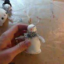 Robienie figurki bałwanka 18