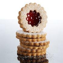 ciasteczka z nadzieniem malinowym
