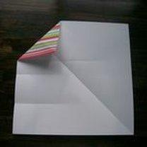pudełko origami - krok 4