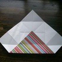pudełko origami - krok 14