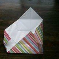 pudełko origami - krok 17