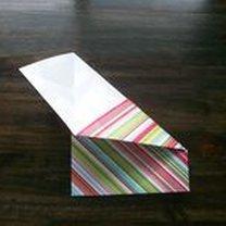 pudełko origami - krok 20