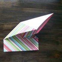 pudełko origami - krok 22