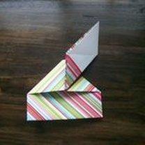 pudełko origami - krok 23