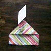 pudełko origami - krok 25