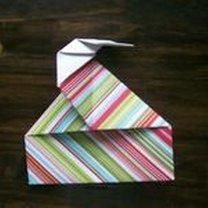 pudełko origami - krok 27
