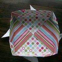 pudełko origami - krok 33