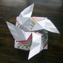 pudełko origami - krok 34