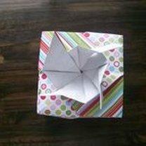 pudełko origami - krok 35