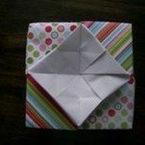 pudełko origami - krok 36