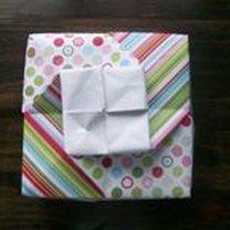 pudełko origami - krok 37