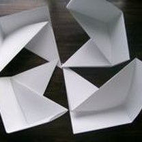 pudełko origami - krok 43