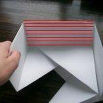 pudełko origami - krok 44